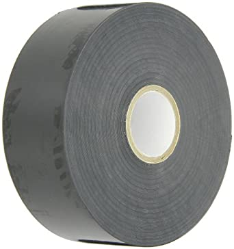 """NSI Industries EWPP202100 Easy-Wrap All Weather Corrosion Protection PVC Tape, 2"""" Width, 100' Length, 0.020"""" Thick, Black"""
