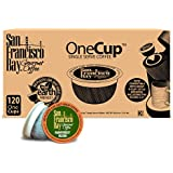 San Francisco Bay OneCup, Organic Rainforest Blend, 120 Single Serve Coffees