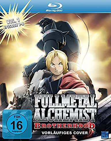Fullmetal Alchemist: Brotherhood, Blu-ray - Volume 1