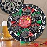 Bullseye Treats Dart Board Beer Cheese Gift Set