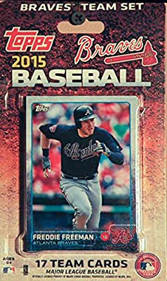 MLB Atlanta Braves Licensed 2015 Topps® Team Set