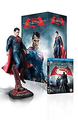 Batman v Superman: Dawn of Justice - Superman Statue Ultimate Edition (Limited Edition - Exclusive to Amazon.co.uk) [Includes Digital Download] [Blu-ray 3D + Blu-ray]