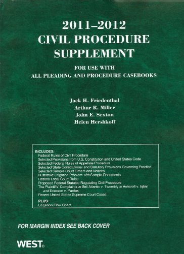 Civil Procedure Supplement for use with all Pleading and...