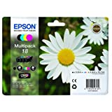 Original Genuine EPSON Daisy (Black, Cyan, Magenta & Yellow) Ink Cartridges For Expression Home XP-102 XP-202 XP-205 XP-30 XP-302 XP-305 XP-402 XP-405 Inkjet Printers. Free Delivery & VAT receipt with every order!