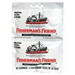 Fisherman's Friend Menthol Cough Suppressant Lozenges, Original, Extra Strong, 40 ct.
