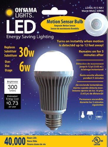 Montezumaa Cheap Now Energy Saving Led Light Bulb Motion Sensor Led Bulb 300 Lumens