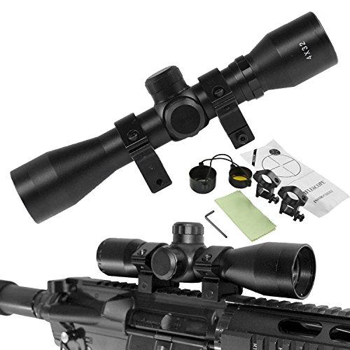 Chinoook 4x32 Tactical Rifle Scope Hunting Optics Crosshair Riflescope Gun Scope (Gun Scope compare prices)