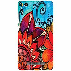 Back Cover For Xiaomi Mi4i MZB4300IN -(Printland)