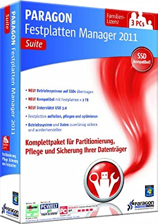 Paragon Festplatten Manager 11 Suite