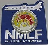 水樹奈々 【LIVE FLIGHT 2014】 ピンズ 三重会場1日目限定