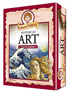 Educational Trivia Card Game - Professor Noggin's History of Art