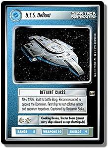 Star Trek Ccg 1e The Dominion Uss Defiant Td126r