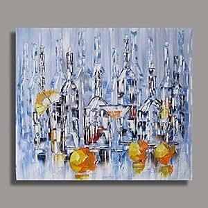Bobo mano case astratto pittura ad olio in piedi con for 300 case piedi quadrati