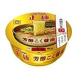 マルちゃん マルちゃん正麺 カップ 芳醇こく醤油 111g×12個