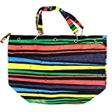 Balin Womens Tiger Canvas Tote Bag - Bright