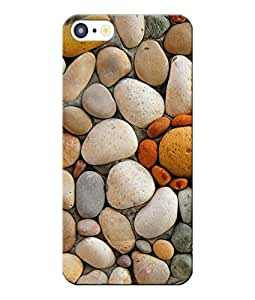 Snazzy Printed Back Cover For Apple Iphone 5/5S/5C Multicolour