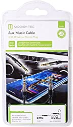 Modish Tec Aux Music Cable with Universal Stereo Plug (Black)