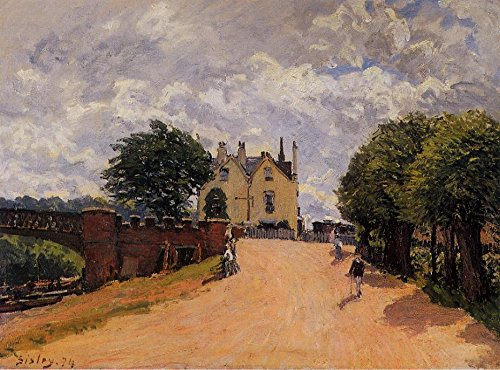 inn-at-east-molesey-with-hampton-court-bridge-by-alfred-sisley-21-x-28-premium-canvas-print