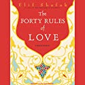 The Forty Rules of Love: A Novel of Rumi (       UNABRIDGED) by Elif Shafak Narrated by Laural Merlington