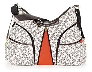 Skip Hop Versa Expandable Diaper Bag, Cream Links