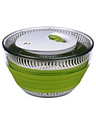 Prepworks from Progressive International CSS-1 Collapsible 4-Quart Salad Spinner by Progressive International