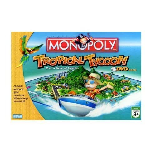 Monopoly Tropical Tycoon Game by Hasbro Games (English Manual)