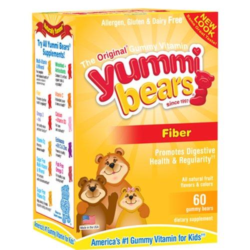 Yummi Bears Fiber Supplement - 60 - Chewable (Yummi Bears Fiber compare prices)
