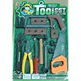 Vibgyor Vibes™ Tool Set, Tool Kit For Kids And Toddlers With 14 Tools. Best Gift To Children-Contents And Colour...