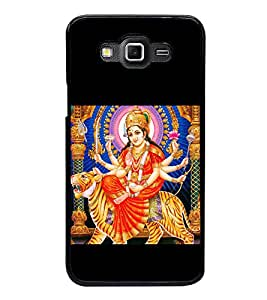 Maa Durga 2D Hard Polycarbonate Designer Back Case Cover for Samsung Galaxy Grand 3 :: Samsung Galaxy Grand Max