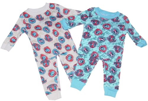 Buy Boys' Pajamas Loungewear Set with Sports Print