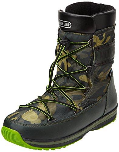Moon Boot Mb Lem Military, Stivaletti, Uomo, Verde (Camu), 9