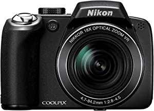 Nikon Coolpix P80 10.1MP Digital Camera with 18x Wide Angle Optical Vibration Reduction Zoom (Black)