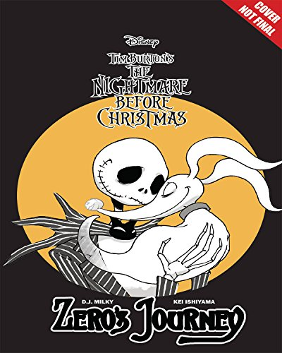 Disney Manga: Tim Burtons The Nightmare Before Christmas - Zeros Journey [Milky, D.J.] (Tapa Blanda)