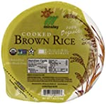 Steamed Brown Rice Bowl, Organic, Mic...
