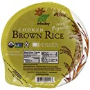 Steamed Brown Rice Bowl, Organic, Microwaveable, 7.4-Ounce Bowls (Pack of 12)