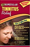Homeolab USA Tinnitus Relief Tablets, 63 Chewable Tablets