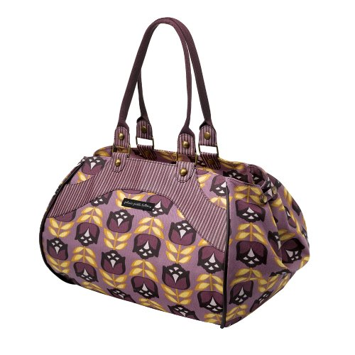 Petunia Pickle Bottom Wistful Weekender Tote,Indelible Iris,One Size front-825295