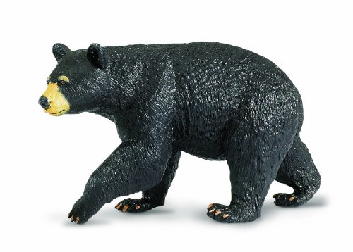 Black Bear Plastic Replica by Safari Ltd