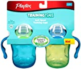 Playtex First Sipster Cup/TrainingTime, 7 Ounce, 2 Pack, Color May Vary