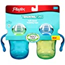Playtex Training Time Soft Spout Cup, Color May Vary, 6 Ounce, 2 Count