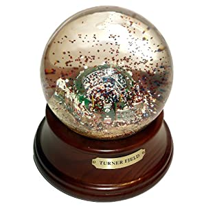 MLB Atlanta Braves Turner Field Musical Globe by Sports Collector
