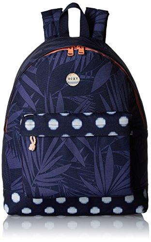 roxy-backpack-be-young-borsa-da-donna-blu-small-ikat-dots-combo-peacoat-unica
