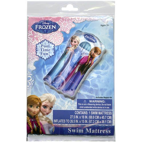 Disney Junior Frozen Elsa Anna Pool Swim Mattress
