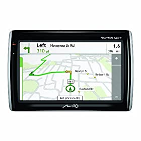Navman S500 Widescreen Satellite Navigation System with Traffic