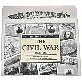 60-Page Historical Civil War Newspaper Reprints