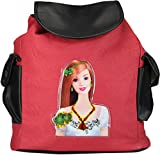Frosty Fashion Women's Backpack Handbag (FF-ONLB-1032, Red)