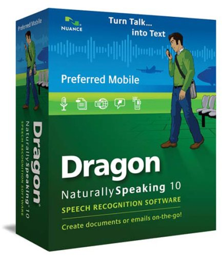Dragon NaturallySpeaking 10 Preferred  Mobile