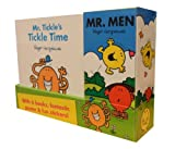 Roger Hargreaves Mr Men 6 Books Collection Gift Set Pack Including Fantastic Poster & Fun Stickers (Mr. Tickle's Tickle Time, Mr. Happy's Smiley Day, Mr. Nonsense's Silly Day, Mr. Bounce's Bouncy Day, Mr. Small's Holiday, Mr. Noisy''s Big Suprise)