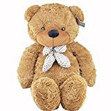 "Joyfay Big 39"" 100cm Dark Brown Teddy Bear Soft Stuffed Plush Animal Toy"
