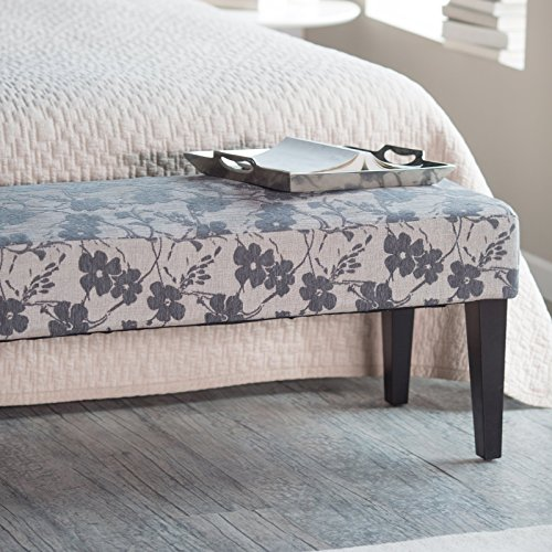 Belham Living Altea Upholstered Bedroom Bench Grey